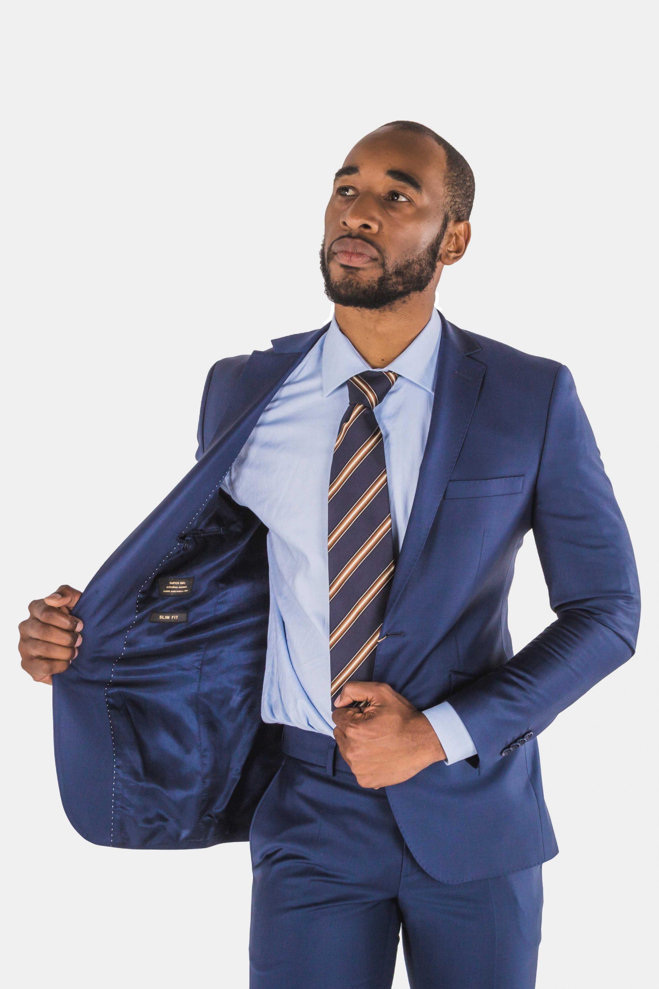 Bagozza Royal Blue Suit
