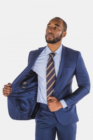 Bagozza Royal Blue Suit