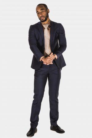 Bagozza Navy Suit