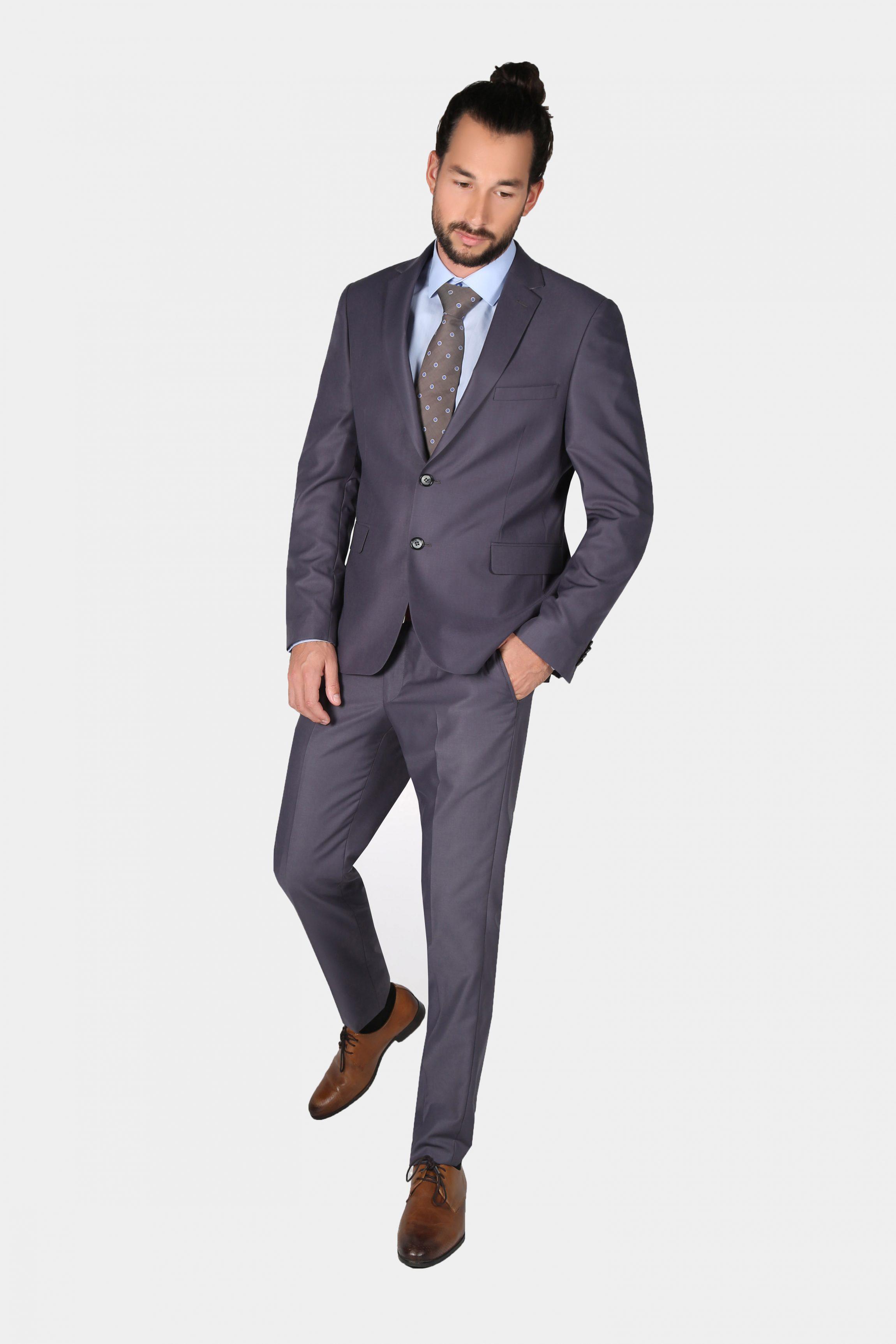 White Hall Grey Suit