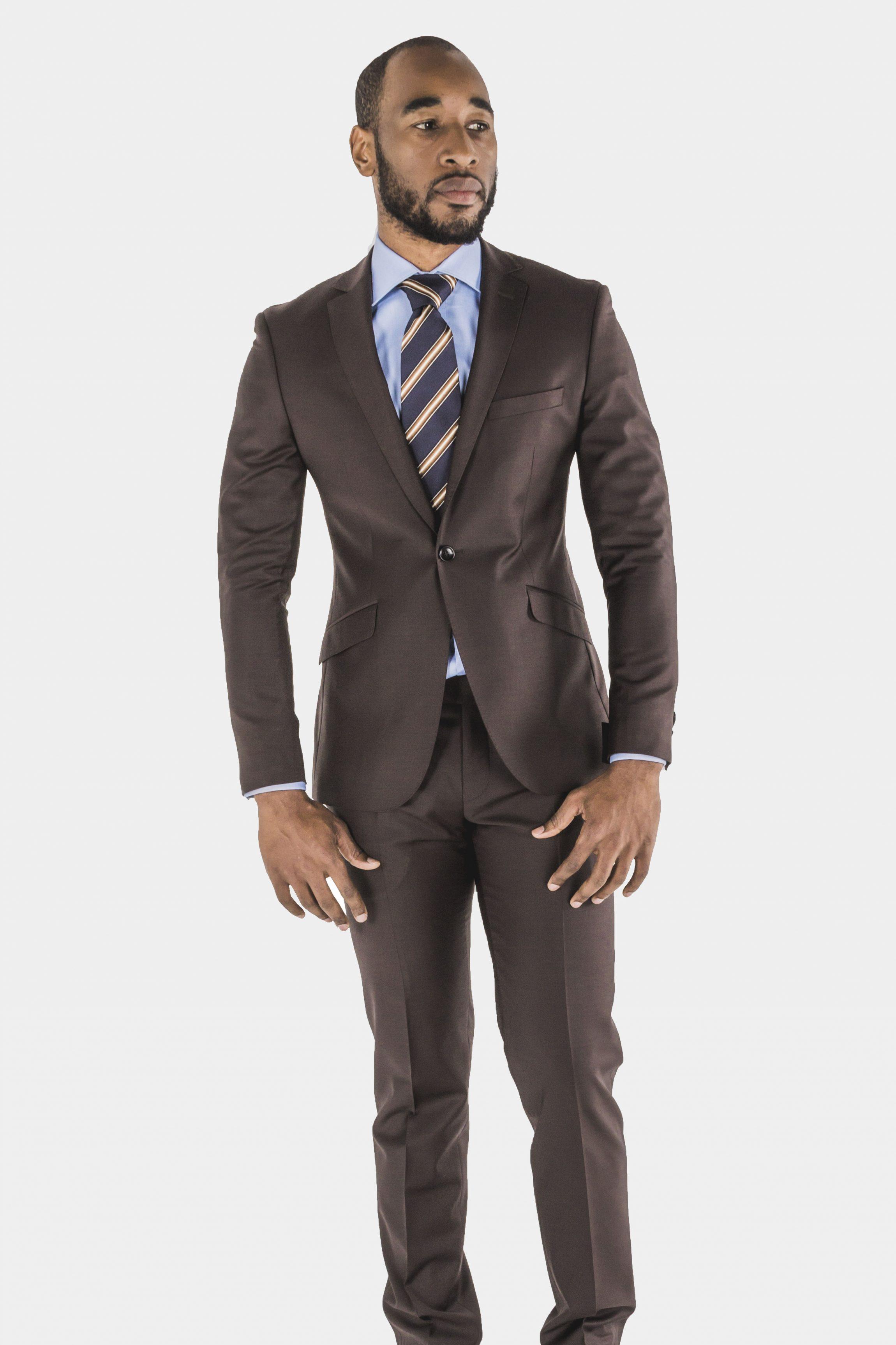 Bagozza Brown Suit