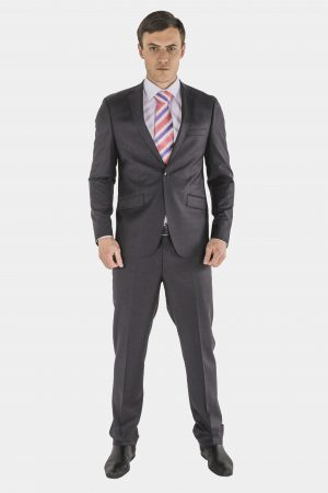 Bagozza charcoal suit