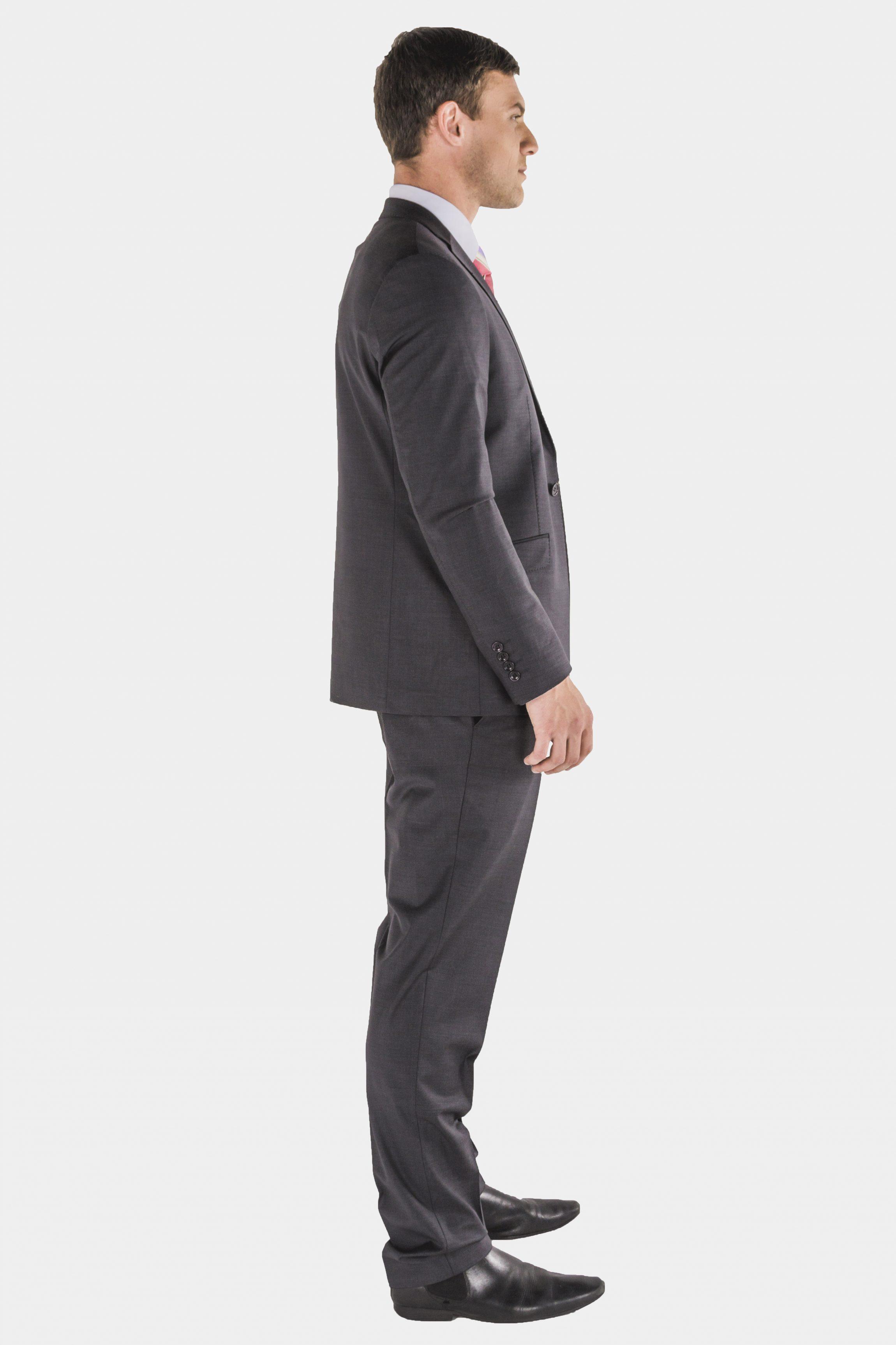 Bagozza charcoal suit