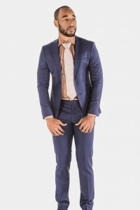 Bagozza Navy Suit